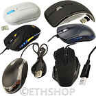 USB 2.0 Wired LED Scroll Wheel/ 6 Button Game Gaming 1600 DPI Optical Mice Mouse