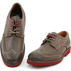 Mens Wingtip Oxfords Real Leather Casual & Dress Fashionable Trendy Look by GBX