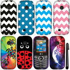 For LG Cosmos 3 VN251S Cosmos 2 VN251 Design PATTERN HARD Case Phone Cover + Pen