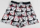 Mens Marvel Superhero The Punisher Red Black Logo Boxers Underwear Size S M L