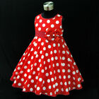 R3121 Red Christening Baptism Communion Event Dresses SIZE 1 2 3 4 5 6 7 8 9 10Y