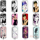 New Fashion Pretty Audrey Hepburn Hard Back Case Cover For i Phone 5 5G 5S