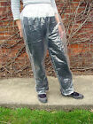 DISPOSABLE WATERPROOF OVERTROUSERS TRANSPARENT UNISEX FESTIVALS CAMPING TROUSERS