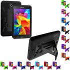 Hybrid Rugged Stand Hard Case Cover for Samsung Galaxy Tab 4 8.0 8 Inch