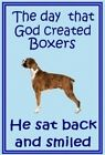 Boxer - New - large chunky dog keyrings - .