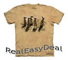 """Child MEERKAT The Mountain T Shirt """"The Meeting"""" All Sizes From 4 -14 Years"""