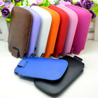 Hotsale PU Leather Pouch Case Pocket Cover Bag For Apple Iphone 3G/3GS/4G/4S