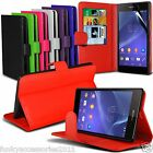 Leather Wallet Quality Executive Book Stand Phone Case Cover✔Screen Protector