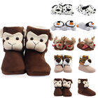 Ladies Novelty Animal Womens Soft Plush Girls Christmas Gift Slippers Size S-L