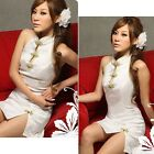 Women Sexy Hot Halter Classical Cheongsam Nightdress Lingerie Babydoll Sleepwear