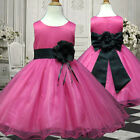 USMD58 Black Christmas Formal Occasion Girl Dress 1,2,3,4,5,6,7,8,9,10,11-13