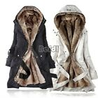 Women Winter Thicken Fleece Warm Coat Lady Outerwear Fur Jacket Plus Size Parka
