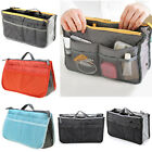 Lady Women Travel Insert Handbag Purse Organiser Large Liner Organizer Tidy Bag