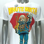 m252w Minute Mirth M L T-shirt Tattoo Skull Tin Toy Robot Space Casual Men Rock