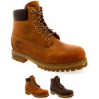 "Mens Timberland Classic 6"" Anniversary Lace Up Smart Nubuck Ankle Boots UK 7-12"