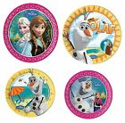 DISNEY FROZEN (Princess) Birthday Party PLATES (Choice of 4 designs/sizes)