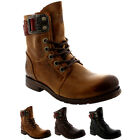 Womens Fly London Stay Lace Up Leather Buckle Military Biker Ankle Boots UK 3-9