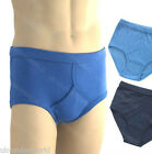 6 Pairs Mens Y Fronts 100% Cotton Interlock Briefs Adults Underpants Big Sizes