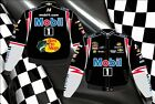 2013 Tony Stewart Mobil 1 NASCAR Jacket Coat Bass Pro Shops Adult Mens Size NEW