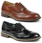 Ferro Aldo M-139001 Men's Lace Up Dress Classic Oxford Shoes w/ Leather lining