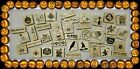 New You Choose Spooky Halloween/Fall Wood Mounted Rubber Stamps! FAST SHIPPING!