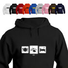 RC Copters Helicopter Lover Gift Hoodie Hooded Top Daily Cycle Fly