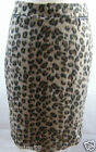 NEW MARKS & SPENCER  ANIMAL PRINT WOOL MIX PENCIL SKIRT RRP £39.50 SIZES 8 TO 18