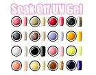 Nail Art UV Gel Colorful Soak off Polish Nail Tips UV lamp 15ml #A