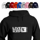 Wing Chun Dummy Gift Hoodie Hooded Top Eat Live Breathe Sleep Wing Chun