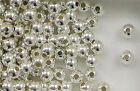 Sterling Silver Beads, 6mm Seamless Round Beads,New