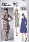 Butterick Sewing Pattern Misses' Dress Skirt Variations Sizes 8-24 B5951