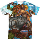 He-Man Masters Of The Universe All Over Sublimation Poly Adult Shirt S-3XL