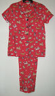 100% Woven Cotton Summer Dog Pajamas Insomniax Womens  S M L Sleepwear Sets Pjs