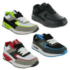 New Boys Mercury Louis Lace Up Casual Cushioned Sports Trainers Size 13-6