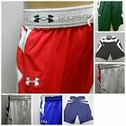 New Under Armour Boys Youth Athletic Mesh Basketball Drawstring Shorts S-XL