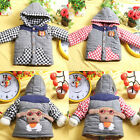 Baby Kid Boy Winter Cotton Jacket Outwear Coat Doggy Cartton Print Snowsuit 1-4T