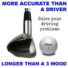 DESIGN YOUR OWN - #1 Driving One Iron Wood Hybrid Driver Anti-Slice GRAPHITE
