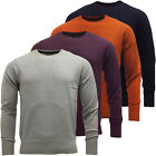 Code Mens Plain Crew Neck Jumper Lightweight Knitted Top S M L XL