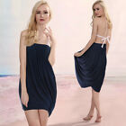 Convertible Wear Multi Way Pleat Layer Cocktail Party Beach Summer Holiday Dress