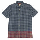 Mens Ben Sherman Mod Fit Gingham Check Factory S/S Shirt Classic Short Sleeve