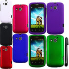 For Huawei Vision 2 Rubberized HARD Protector Case Phone Cover Accessory + Pen
