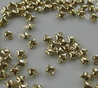Jewellery Craft Design - Gold Plated 6mm Mini Puffed Heart Charms Charm PACKS