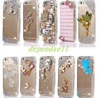 Hot 2014 Bling Crystal Rhinestone Transparent Hard Case Cover for Apple iPhone 6