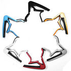 Quick Release Metal Spring Trigger Capo Clamp for Acoustic Electric Guitar