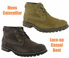 New Mens CAT Caterpillar Daniel Leather Ankle Chukka Fashion Boots Size 6-12 UK
