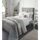 Catherine Lansfield Rich Floral Natural Luxury Duvet Quilt Cover Bedding Set