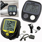 Cycle Bicycle Wireless LCD Bike Computer Speedo Odometer Waterproof Speedometer