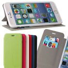 magnetic ultra-thin Leather slot wallet Case stand skin cover for apple iphone 6