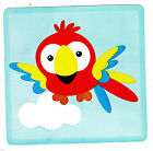 "4-7"" ANIMALS OF THE RAINFOREST PARROT CHARACTER WALL SAFE STICKER  BORDER CUTOUT"
