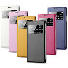 1X S-View Window Flip Leather Case Cover For Samsung Galaxy S4 IV i9500 Tide
